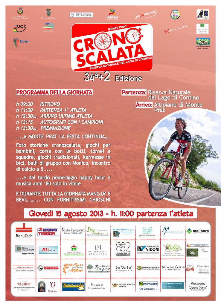 34a+2 edizione della cronoscalata Riserva Naturale del Lago di Cornino – Monte Prat