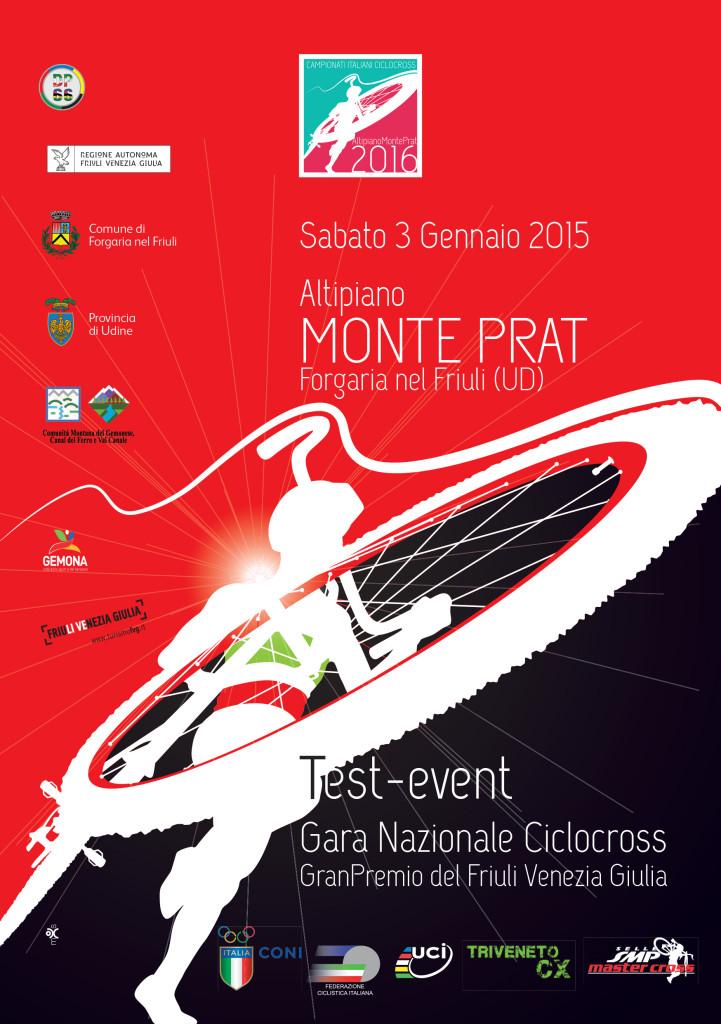 Test Event – Gara Nazionale di Ciclocross – GranPremio del Friuli Venezia Giulia – 3 Gennaio 2015