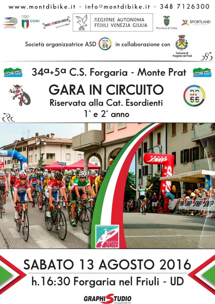 C.S. Forgaria-Monte Prat 13 AGOSTO 2016