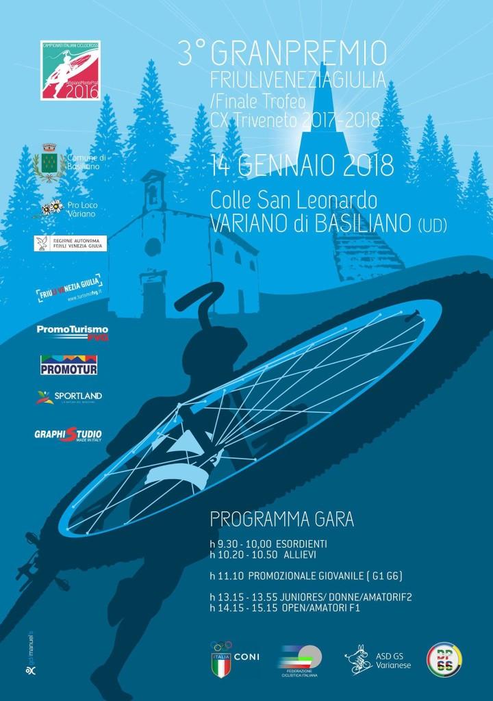 AGGIORNAMENTO – 3° Granpremio FriuliVeneziaGiulia /Finale Trofeo CX Triveneto